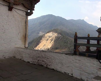 Blasting from road widening could damage Trongsa Dzong locals fear 1 2